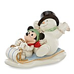 Lenox® A Snowy Day with Mickey Sculpture
