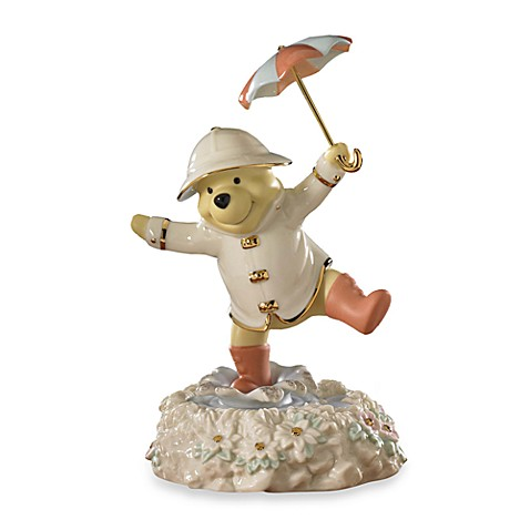 Disney® by Lenox® Pooh's Singing in the Rain  Sculpture