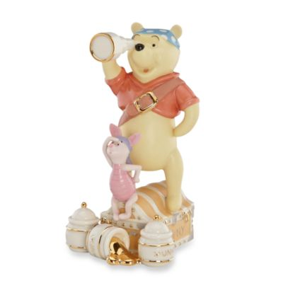 Lenox® Pooh & Piglet's Pirate Adventure Sculpture