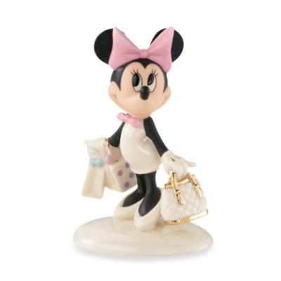 Lenox® Minnie's Shopping Spree Figurine