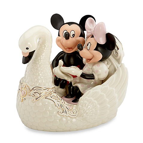 Disney® by Lenox® Romance Under The Stars with Mickey Sculpture