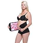 Couture Belly Bandit® in Black/Pink Hearts