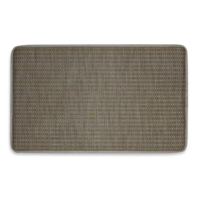Basketweave Tan 23-Inch x 38-Inch Chef's Mat