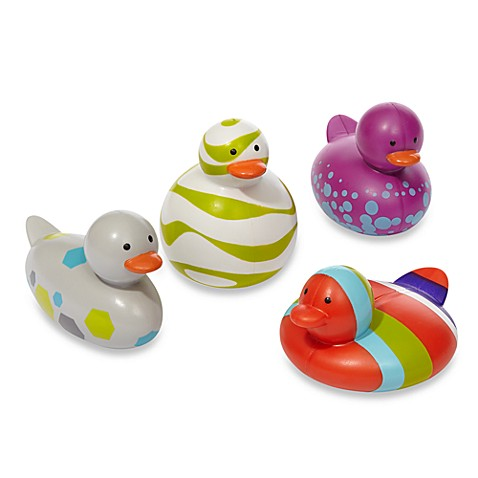 Boon Odd Ducks in Multi-Color Purple