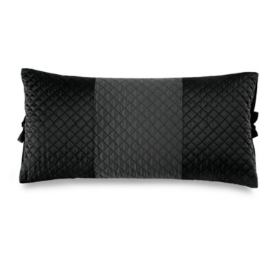 DKNY Harmony Oblong Toss Pillow in Black