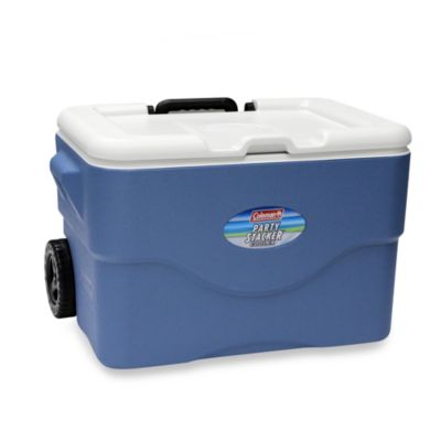 Coleman® 50-Quart Wheeled Party Stacker™ Cooler