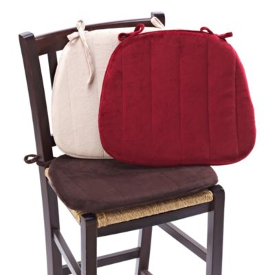 Memory Foam Chair Cushion in Red