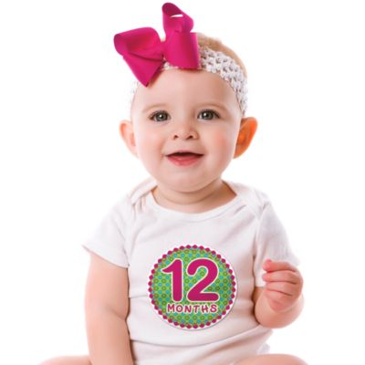 Sticky Bellies™ Oh Sew Adorable 1 to 12 Months Stickers