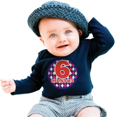 Sticky Bellies™ Oh Sew Handsome 1 to 12 Months Stickers