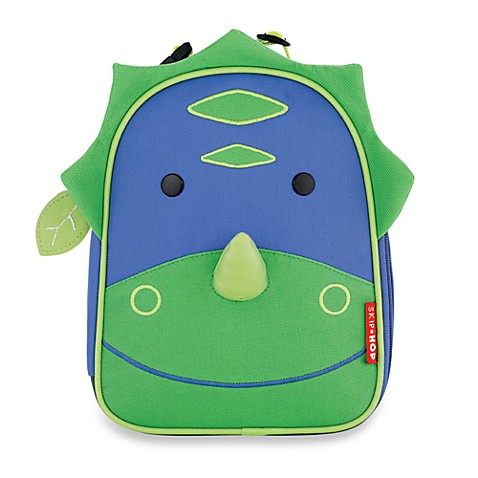 SKIP*HOP® Zoo Lunchies Dinosaur Insulated Lunch Bag