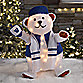 24-Inch Lighted Hanukkah Bear