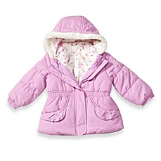 Osh Kosh B'Gosh® Purple Bow Bubble Jacket