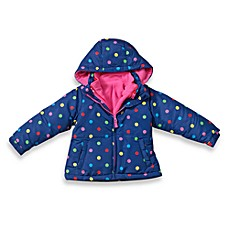 Osh Kosh B'Gosh® Navy Dot Bubble Jacket