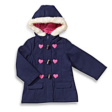 Osh Kosh B'Gosh® Heart Duffle Wool Jacket