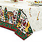 Traditional Santa Damask 70-Inch Round Tablecloth