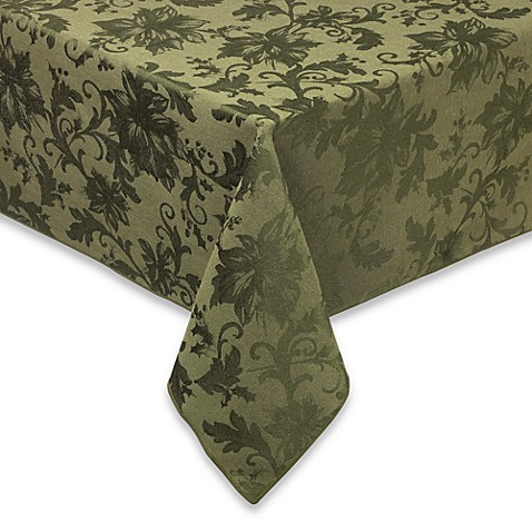 Buy Holiday Joy 60 Inch X 104 Inch Oval Tablecloth In