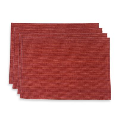 Zania Solid Placemat in Cinnamon