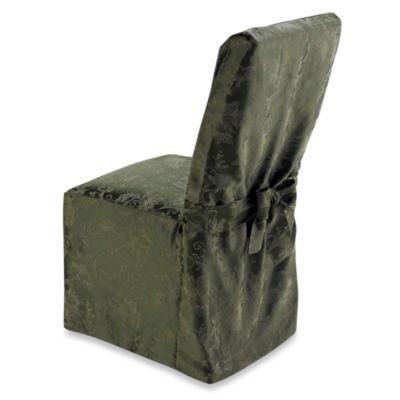 Holiday Joy Dining Room Chair Cover - Olive