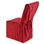 Holiday Joy Dining Room Chair Cover - Ruby