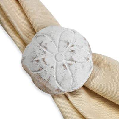 Sand Dollar Napkin Ring