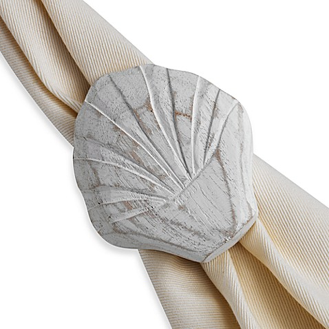 Scallop Shell Napkin Ring