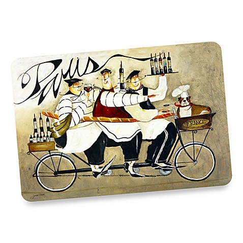 Chefs de france oversized placemat bed bath beyond for Oversized placemats