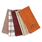Three Fall Trees Kitchen Towels (Set of Five)