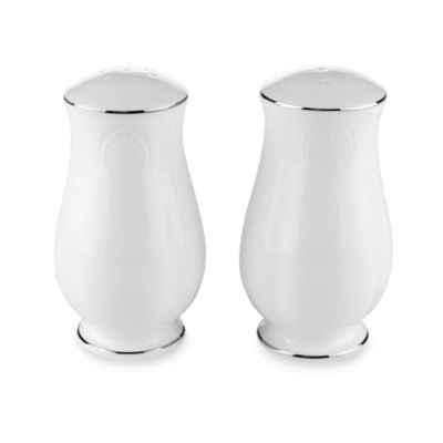 Lenox® Hannah Platinum® Salt & Pepper Shakers