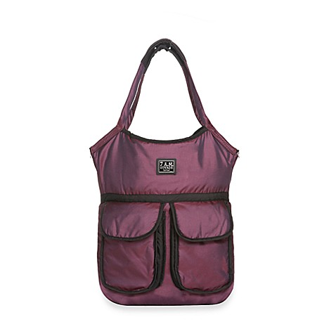 7 A.M.® Voyage Barcelona Bag in Metallic Plum