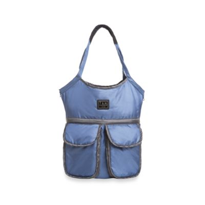 7 A.M.® Voyage Barcelona Bag in Metallic Blue