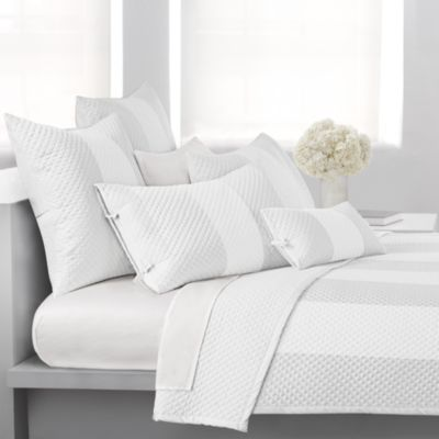 DKNY Harmony European Pillow Sham in White