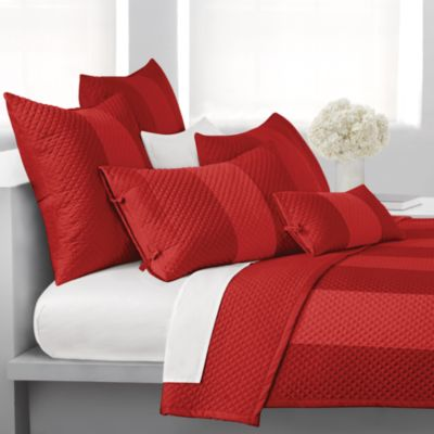 DKNY Harmony Oblong Toss Pillow in Cherry