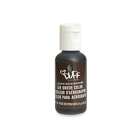 Duff™ Cake Decorating Airbrush Color in Brown