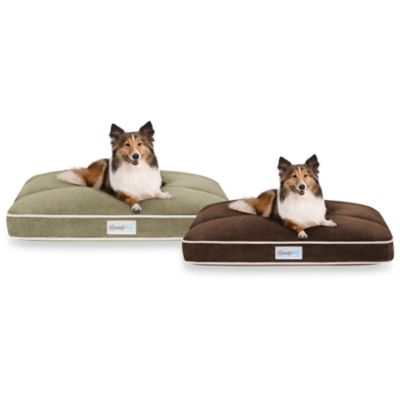 Simmons® Beautyrest® Channel Top Pet Bed in Chocolate