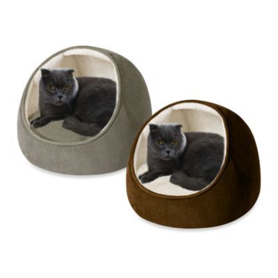 SoftTouch™ Faux Suede Hooded Round Snugglers