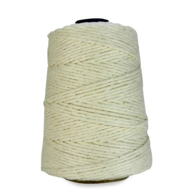 100% Natural Cotton 500-Foot L Cone Cooking Twine