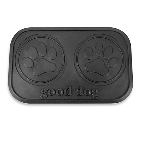 Good Dog Rubber Pet Placemat