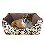 Cheetah Print Pet Bed