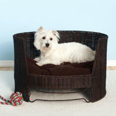 The Refined Canine™ Igloo Pet Bed with Indoor Cushion