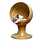 The Refined Feline™ Kitty Ball Bamboo Bed™