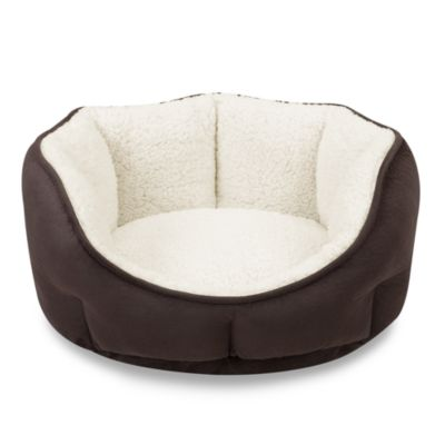 SoftTouch™ Tufted Euro Cuddler in Brown Rhino