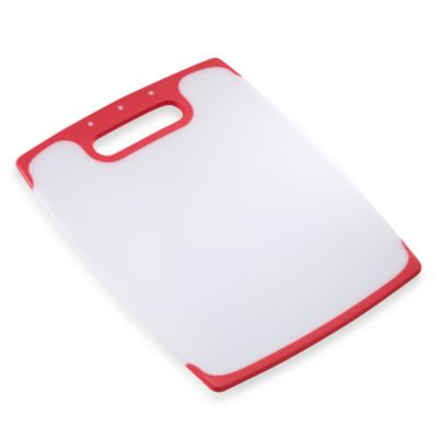 Polypropylene 14-Inch x 11-Inch Non-Skid Cutting Board
