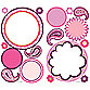 RoomMates Dry Erase Peel & Stick Wall Decals in Paisley