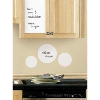 RoomMates 17.5-Inch x 24-Inch Dry Erase Sheet Wall Decals