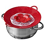 Kuhn Rikon Spill Stopper Large Koch Blume in Red