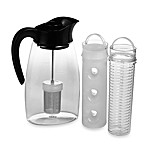 Primula® Flavor It Infusion Beverage Pitcher in Black