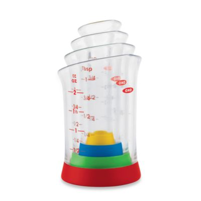 OXO Good Grips® 4-Piece Mini Measuring Beaker Set