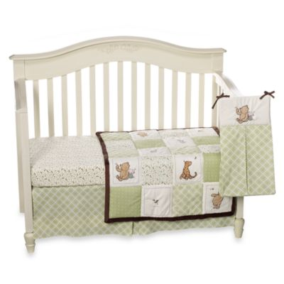 NoJo® My Friend Pooh 4-Piece Crib Bedding Set