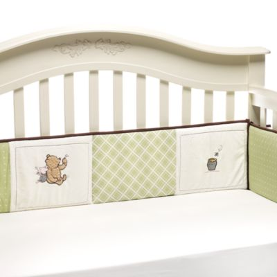 Disney® My Friend Pooh 4-Piece Crib Bumper
