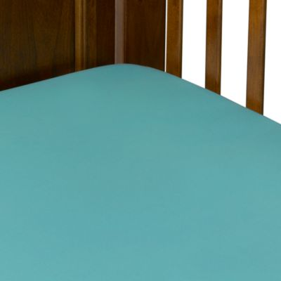 TL Care® 100% Cotton Jersey Crib Sheet in Turquoise